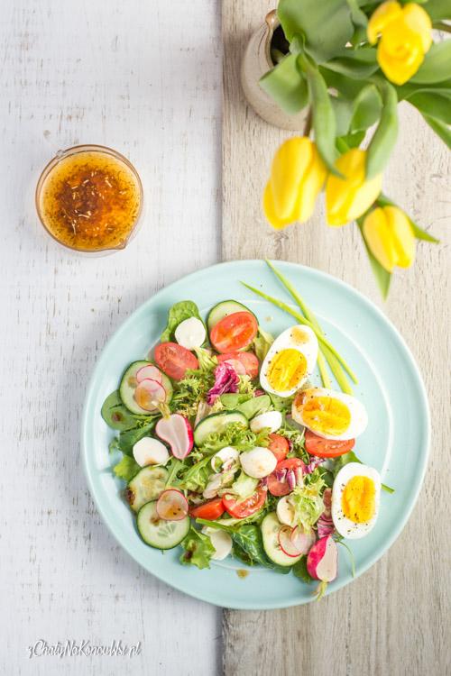 salatka z jajkiem