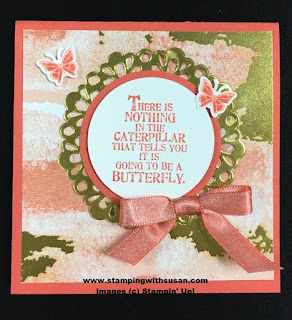 Stampin' Up You Move Me Butterfly Basics Move Me Thinlits Shimmer Ribbon Pack