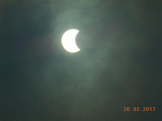 Eclipse solar 2017 - Paraná