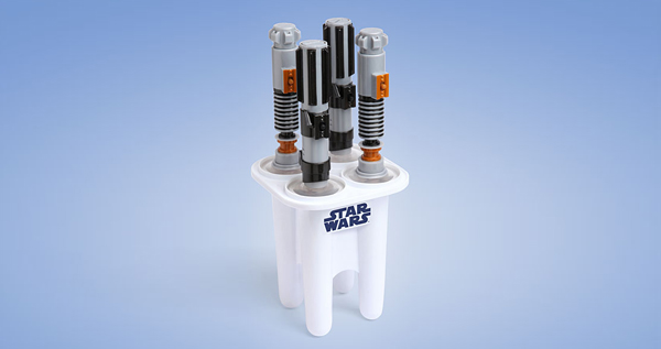 Star Wars Glowing Lightsaber Ice Pop Maker Princess Leia