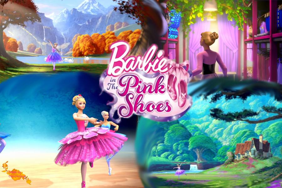 Online Cartoonz Barbie In The Pink Shoes