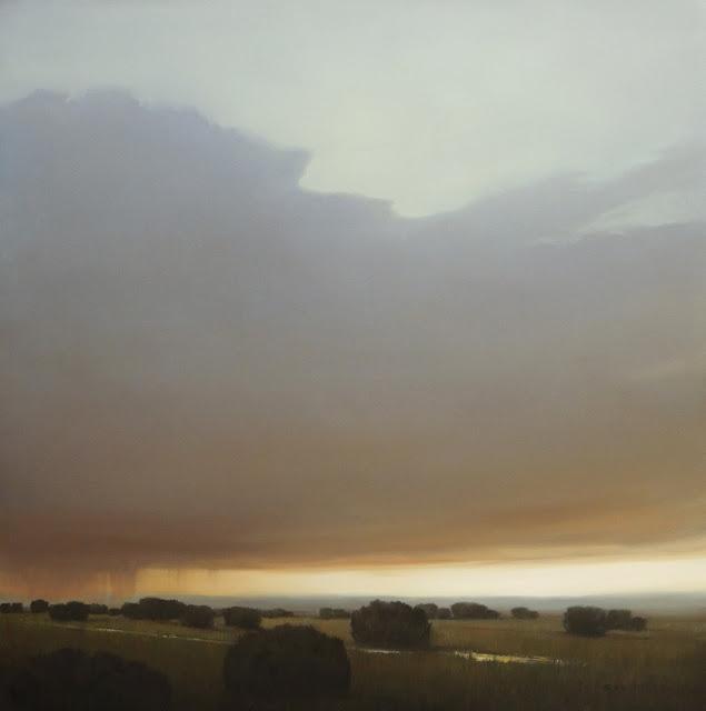 desert landscape oil painting