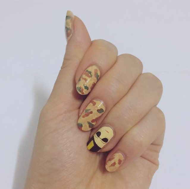 Pinger's chamber:! - Pinger's Chamber:!: Descendants Of The Sun Nail Art