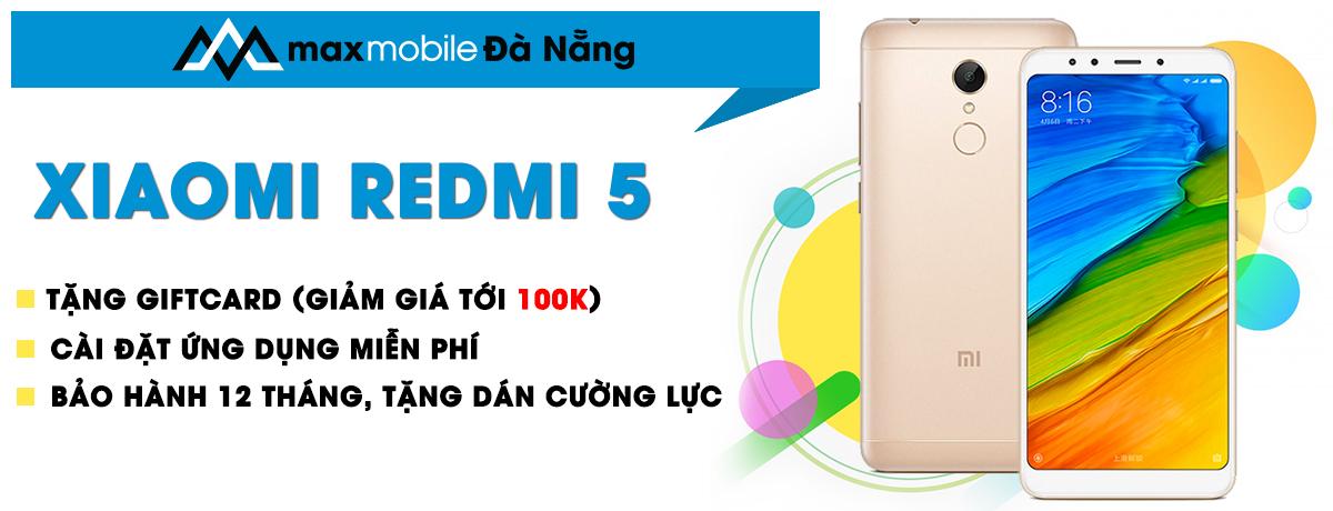 Xiaomi redmi 5 tại Đà Nẵng