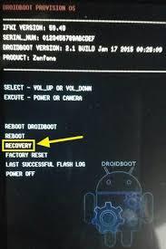 Mengetahui Versi Firmware Asus Zenfone