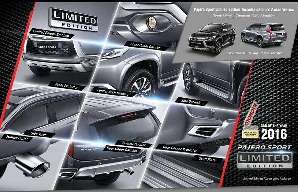 Harga All New Pajero 2016 Limited Edition | Dealer ...