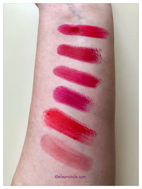 Red Lipstick, Lipstick Collection, Cosmética Natural, Swatches