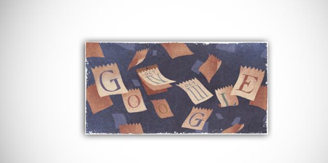 Calendario gregoriano - Il calendario gregoriano nel doodle di Google