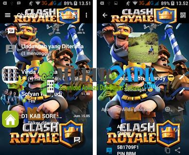 BBM Mod Clash Royale v2.13.1.14 APK Terbaru