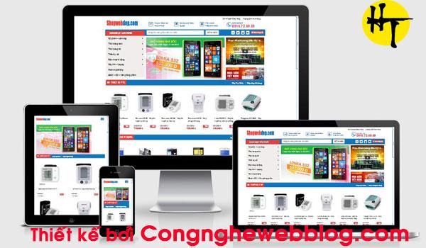 template blogsger ban hang chuan seo full responsive