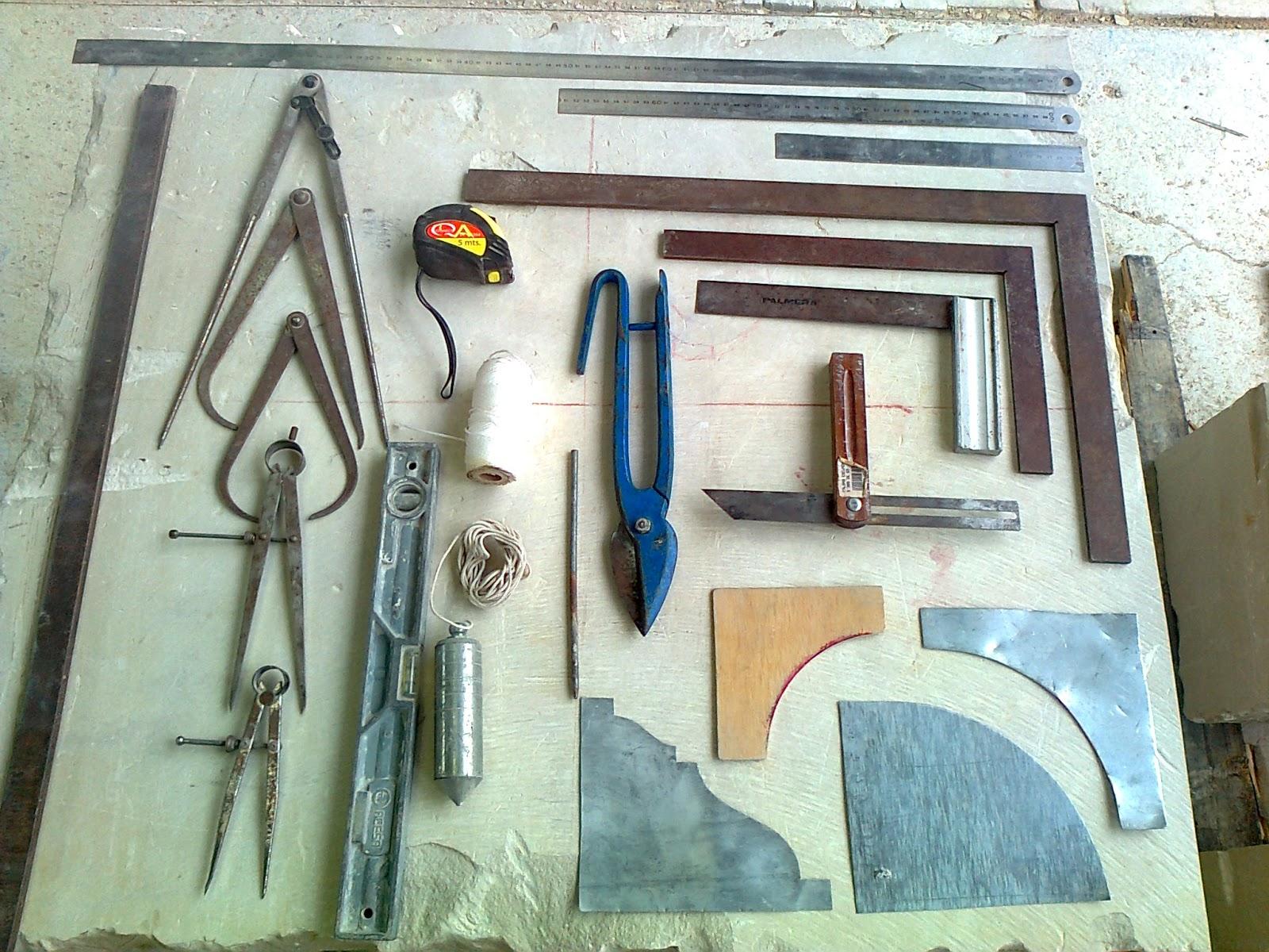 Canter a paso a paso herramientas - Herramientas del albanil ...