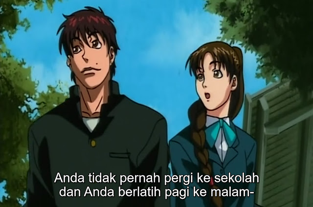 Baki The Grappler Episode 17 Subtitle Indonesia