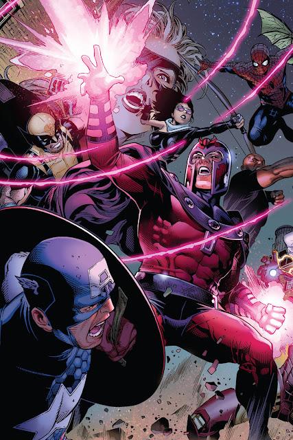 magneto vs avengers