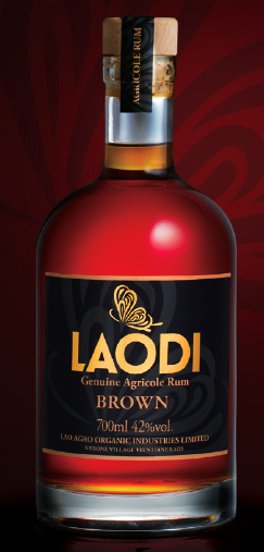 LaoDi Genuine Agricole Brown Rum