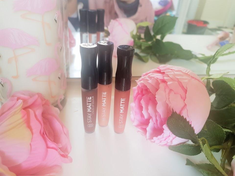 rimmel matte liquid lipsticks
