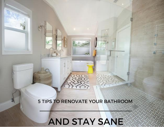 Live Laugh Decorate How To Tackle A Bathroom Renovation And Stay Sane - Bathroom renovation time