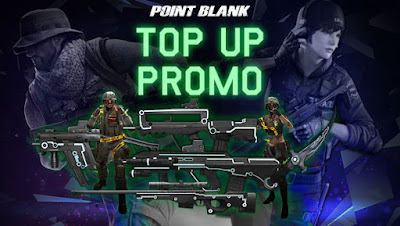 Event Top Up Promo Point Blank PB Garena Indonesia