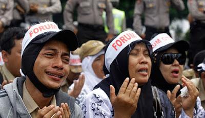 Guru Honorer di Gorontalo Mendapatkan Asuransi