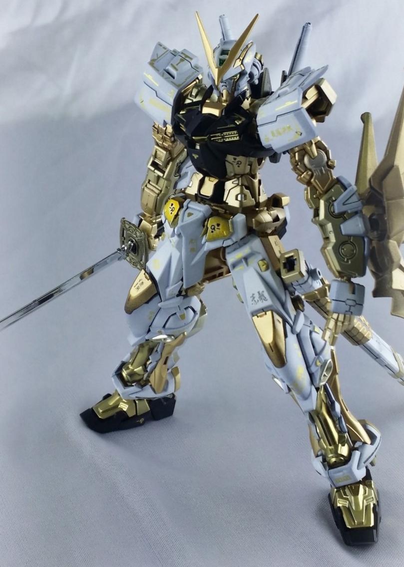 GUNDAM GUY: RG 1/144 Gundam Astray Gold Frame - Painted Build