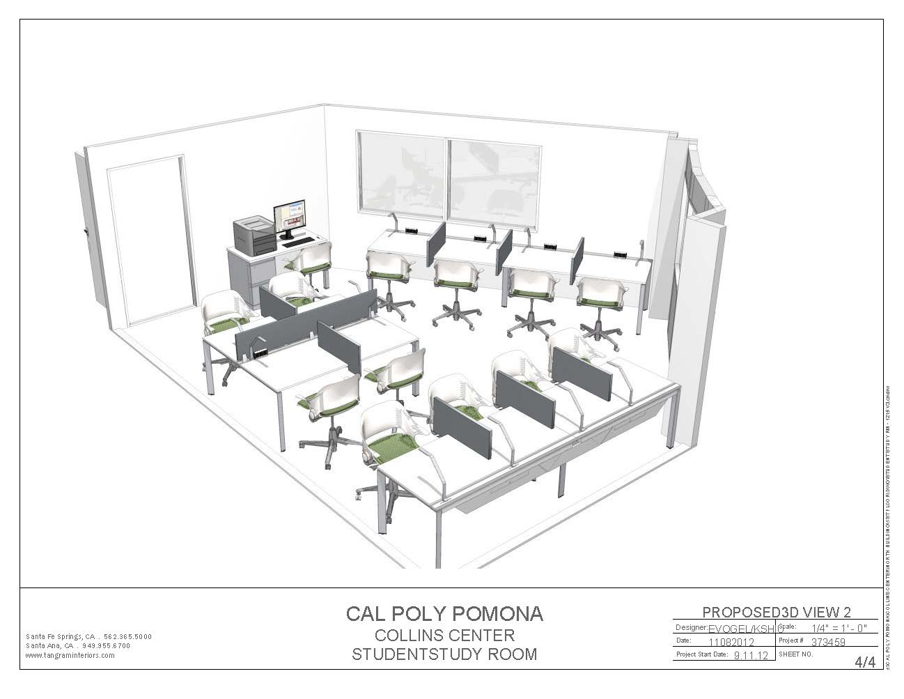 The Collins College Expansion Amp Upgrades New Study Room