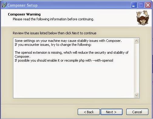 Cara Install Framework Laravel