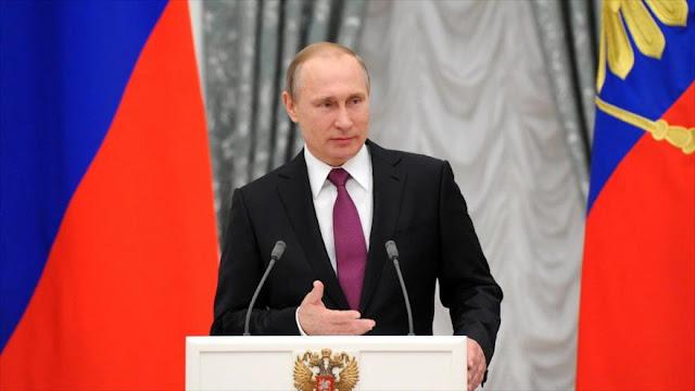 """Putin apoya la creación de un Estado palestino """"independiente y viable"""""""