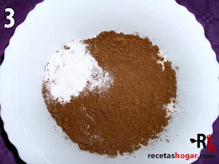 Bizcochón de chocolate con pepitas - Paso-3