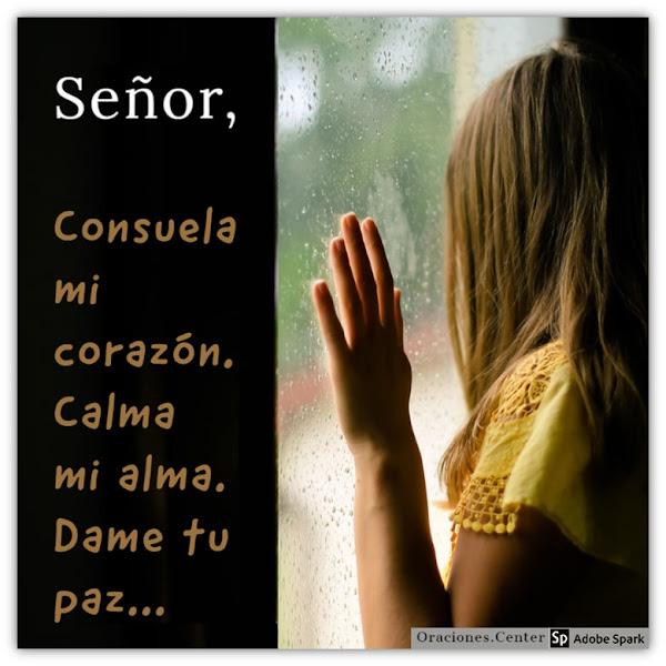 Oraciones de Consuelo