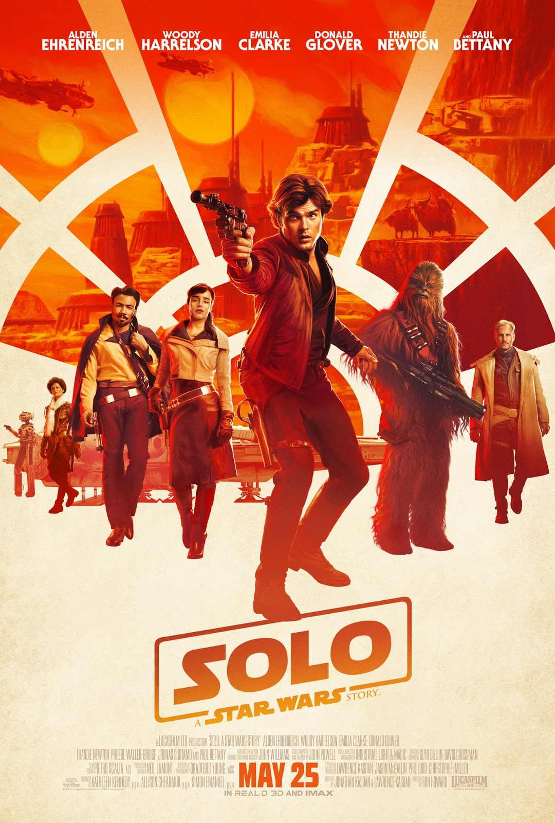 Solo A Star Wars Story movie poster
