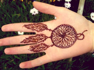 so it would seam Henna Design  Dreamcatcher