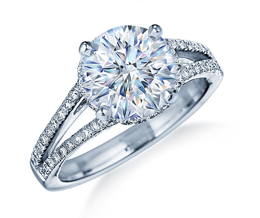 Diamond Rings With Band