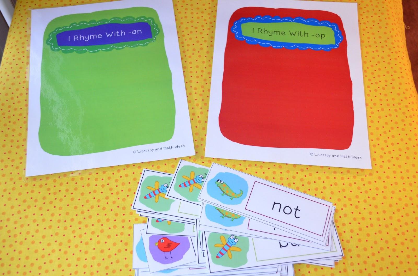 Primary Fun Learning Rhyming Fun