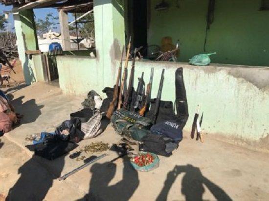 Cinco suspeitos de assaltar casa lotérica em Independência são presos