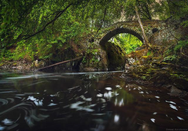 Hermitage Bridge Scozia