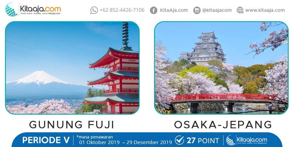 Jalan-Jalan Gratis ke Luar Negeri Osaka Jepang | KitaAja.com