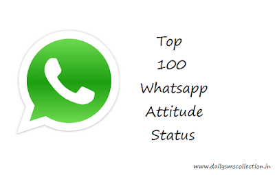100 Awesome Attitude Status for Whatsapp in English