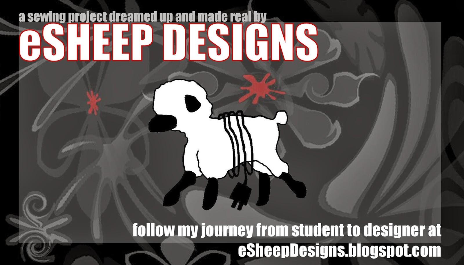 eSheep Designs swing tag