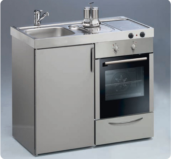 Mini Cocinas Compactas Para Peque 241 Os Espacios Cocinas