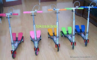 Skuter Happy Dual Pedal ukuran L (Large)