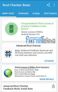 Download Root Checker APK Aplikasi Untuk Cek Android Sudah di Root / Belum