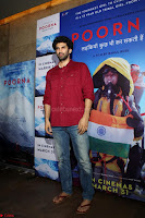 Aditya Roy Kapoor with Star Cast of MOvie Poorna.JPG (1) Red Carpet of Special Screening of Movie Poorna ~ .JPG