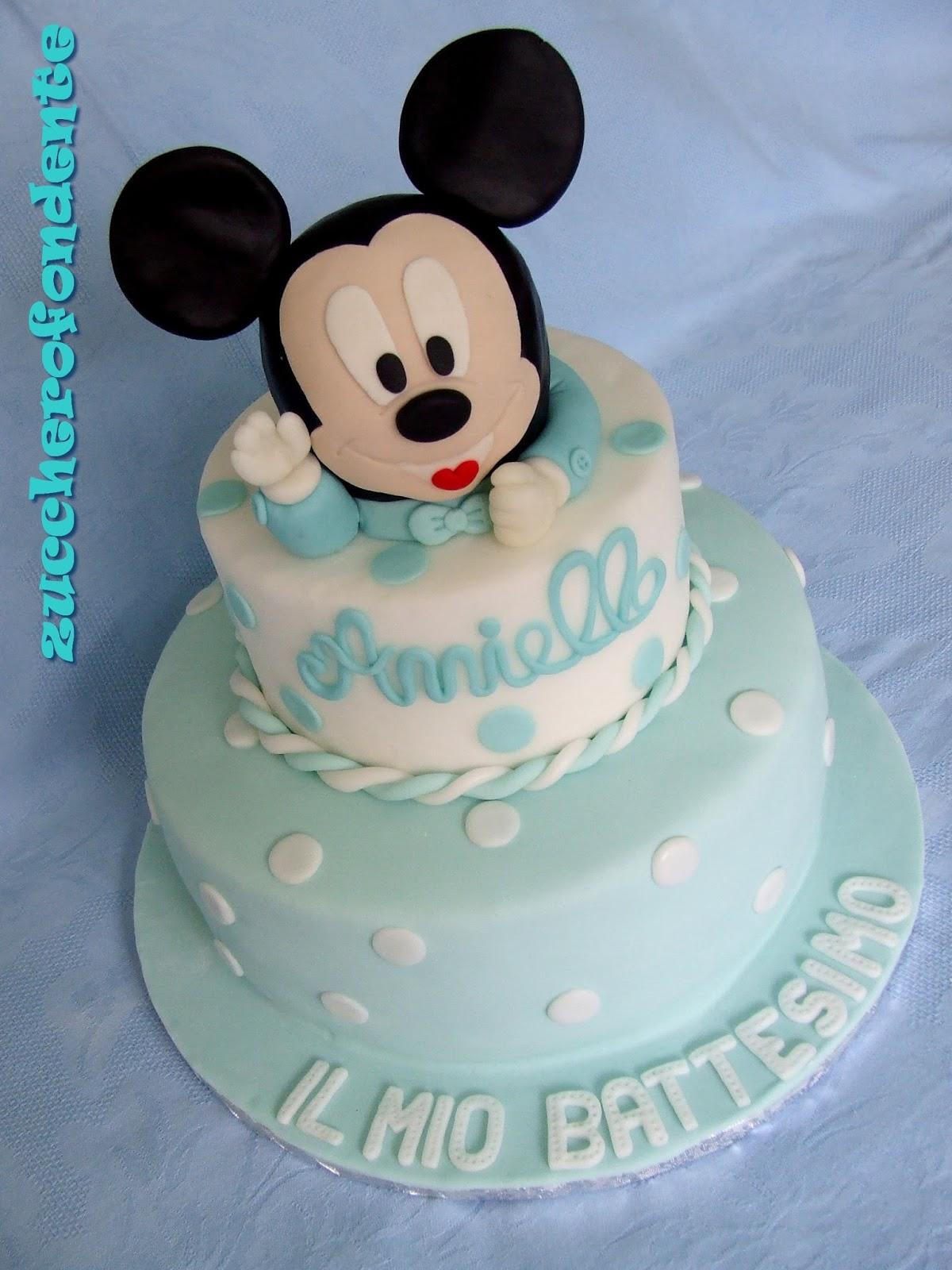 Famoso Torta Baby Topolino per un Battesimo!!! MU93