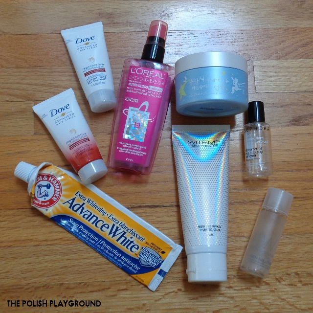 December 2016 Product Empties