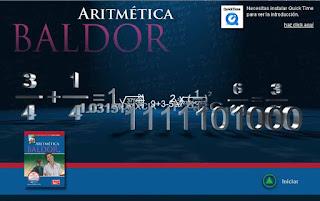 Software interactivo - aritmetica de baldor