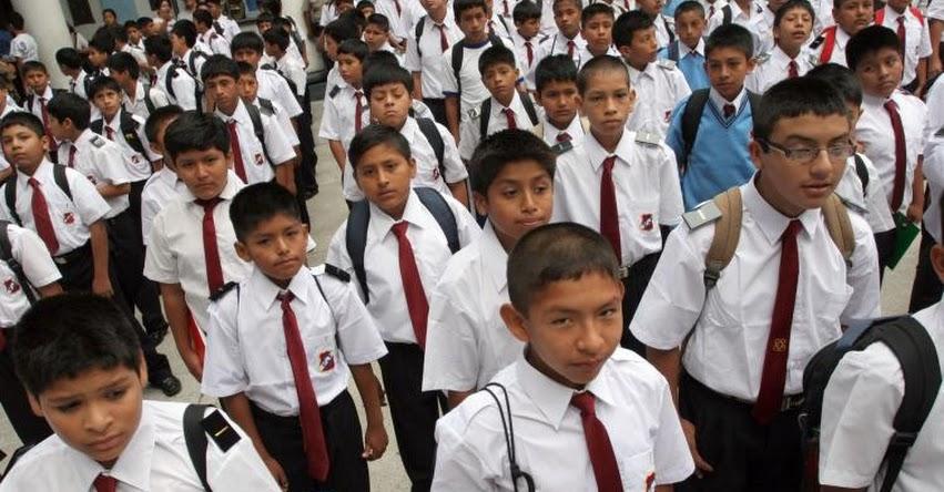 AÑO ESCOLAR 2020: Sepa cuándo será el inicio de las clases escolares el próximo año
