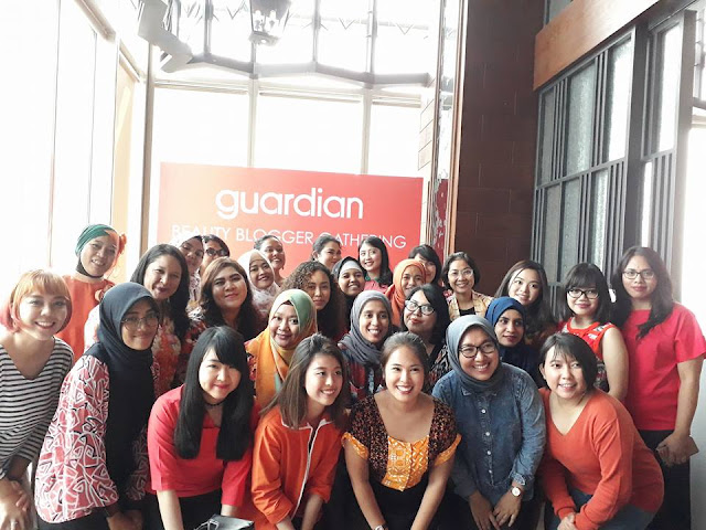 Guardian Beauty Blogger's Gathering at GAIA The Plaza #meisUniqueBlog