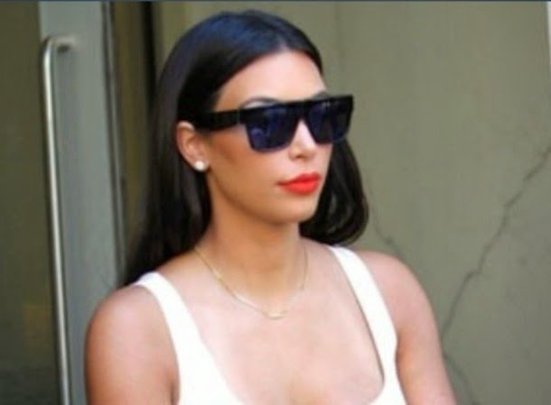 7d608f1a1f A Girl Who Likes Stuff  new obsession  www.cinemas93.org. Kim Kardashian  wearing Grey Ant Foundry Sunglasses at LAX Airport