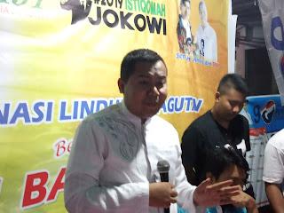 Karman Ajak Warga Mataram Pilih Jokowi-Amin