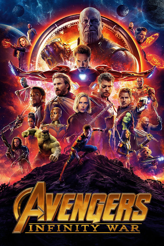 Avengers: Infinity War [2018] [DVDR] [NTSC] [CUSTOM HD] [Latino Final]