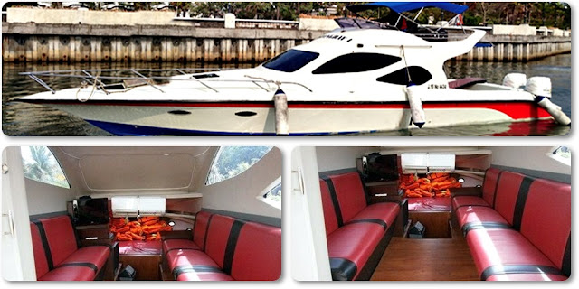 Sewa Kapal Speedboat Stingray Ke Pulau Seribu
